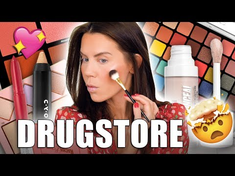 NEW DRUGSTORE MAKEUP that will BLOW YOUR MIND