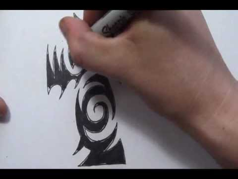 Cross Tattoos – Drawing a Cool Tribal Tattoo Design