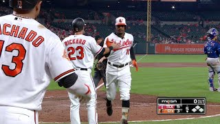 Adam Jones crushes a two-run home run to right-center field, cutting the Orioles' deficit to 5-3 in the 5th inningCheck out http://MLB.com/video for more!About MLB.com: Former Commissioner Allan H. (Bud) Selig announced on January 19, 2000, that the 30 Major League Club owners voted unanimously to centralize all of Baseball's Internet operations into an independent technology company. Major League Baseball Advanced Media (MLBAM) was formed and charged with developing, building and managing the most comprehensive baseball experience available on the Internet. In August 2002, MLB.com streamed the first-ever live full length MLB game over the Internet when the Texas Rangers and New York Yankees faced off at Yankee Stadium. Since that time, millions of baseball fans around the world have subscribed to MLB.TV, the live video streaming product that airs every game in HD to nearly 400 different devices. MLB.com also provides an array of mobile apps for fans to choose from, including At Bat, the highest-grossing iOS sports app of all-time. MLB.com also provides fans with a stable of Club beat reporters and award-winning national columnists, the largest contingent of baseball reporters under one roof, that deliver over 100 original articles every day. MLB.com also offers extensive historical information and footage, online ticket sales, official baseball merchandise, authenticated memorabilia and collectibles and fantasy games.Major League Baseball consists of 30 teams split between the American and National Leagues. The American League consists of the following teams: Baltimore Orioles; Boston Red Sox; Chicago White Sox; Cleveland Indians; Detroit Tigers; Houston Astros; Kansas City Royals; Los Angeles Angels ; Minnesota Twins; New York Yankees; Oakland Athletics; Seattle Mariners; Tampa Bay Rays; Texas Rangers; and Toronto Blue Jays. The National League, originally founded in 1876, consists of the following teams: Arizona Diamondbacks; Atlanta Braves; Chicago Cubs; Cincinnati Reds; Colorado Rockies; Los Angeles Dodgers; Miami Marlins; Milwaukee Brewers; New York Mets; Philadelphia Phillies; Pittsburgh Pirates; San Diego Padres; San Francisco Giants; St. Louis Cardinals; and Washington Nationals.Visit MLB.com: http://mlb.mlb.comSubscribe to MLB.TV: http://mlb.tvDownload MLB.com At Bat: http://mlb.mlb.com/mobile/atbatDownload MLB.com Ballpark: http://mlb.mlb.com/mobile/attheballparkDownload MLB.com Clubhouse: http://mlb.com/clubhousePlay Beat The Streak: http://mlb.mlb.com/btsGet MLB Tickets: http://mlb.mlb.com/ticketsGet Official MLB Merchandise: http://mlb.mlb.com/shopConnect with us:YouTube: http://youtube.com/MLB Facebook: http://facebook.com/mlbInstagram: http://instagram.com/mlbTwitter: http://twitter.com/mlbPinterest: http://pinterest.com/mlbofficialTumblr: http://mlb.tumblr.comGoogle+: http://plus.google.com/+MLB