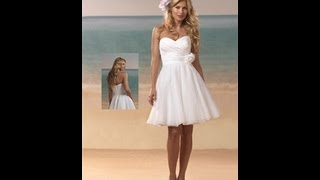 When to Wear a Short Wedding Dress? [Video]