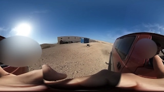 In the middle of nowhere in the Island of Fuerteventura......An aAmazing dog attack Viral 360 video viral!