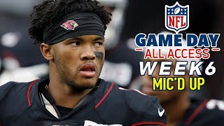 NFL Week 6 Mic'd Up, I should have started you in fantasy! | Game Day All Access by NFL