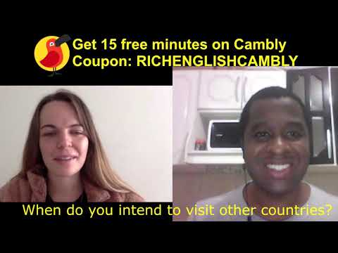 English conversation class on Cambly about Distance Education