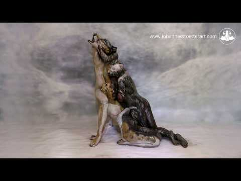 The Wolf – Fine Art Bodypainting by Johannes Stötter