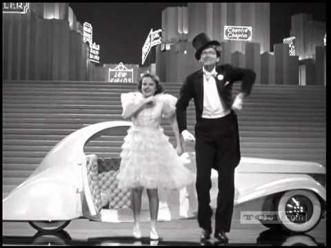 Judy Garland and Buddy Ebsen