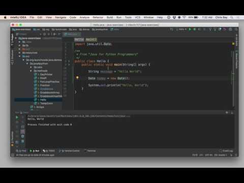 Intro to IntelliJ
