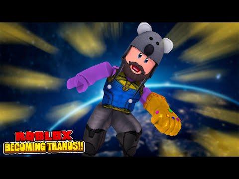 USING ADMIN COMMANDS AS THANOS!!  Roblox Superhero Tycoon