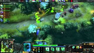 Dota 2- Complexity vs Quantic- The Defense Playoffs Game 1
