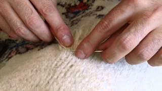 Persian rug repair www.passionofpersia.com