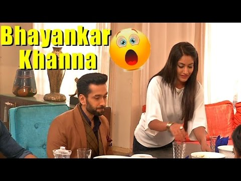 Anika makes dinner for the first time, Shivaay eat