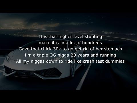 Juicy J - Ain't Nothing ft. Wiz Khalifa, Ty Dolla $ign - (with LYRICS)