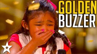 Video Girl on Fire Angelica Hale Gets the Guest GOLDEN BUZZER! MP3, 3GP, MP4, WEBM, AVI, FLV Desember 2018