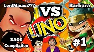 LordMinion777 RAGE Compilation #1 | UNO