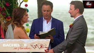 Carly And Evan Get Married! - Bachelor In Paradise