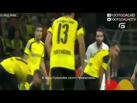 All Goals & Highlights ~ Borussia Dortmund 2 2 Real Madrid ~ 27/09/2016 Champions League