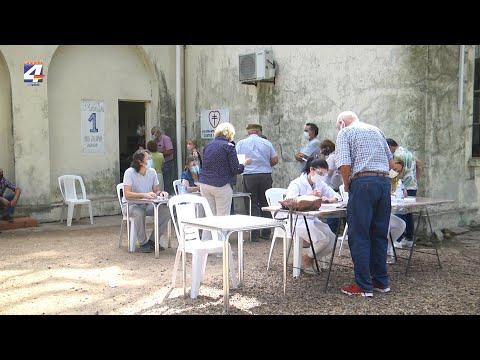 Jornada de vacunación con Astrazeneca en Paysandú