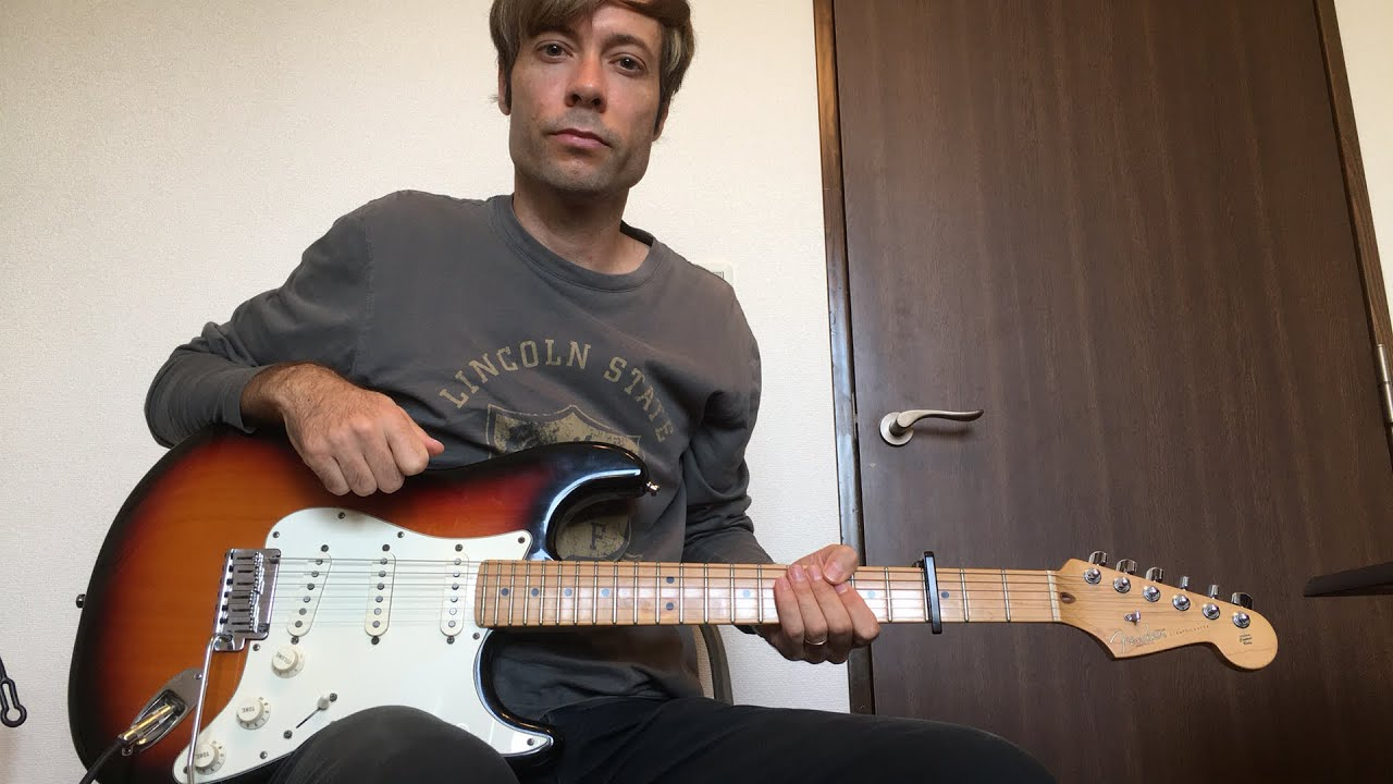 """""""Do it Again"""" Elevation – Electric guitar tutorial"""