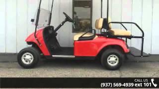 5. 2011 E-Z-GO TXT 48 Volt Electric Red - Power Equipment So...