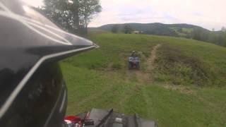 7. ATV Nowa Wieś! Polaris Scrambler 850 4x4 i Yamaha Wolverine 450