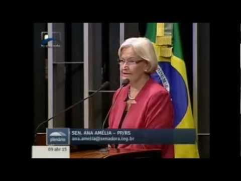 Senadora Ana Amélia demonstra frustração com arquivamento da CPI dos Fundos de Pensão