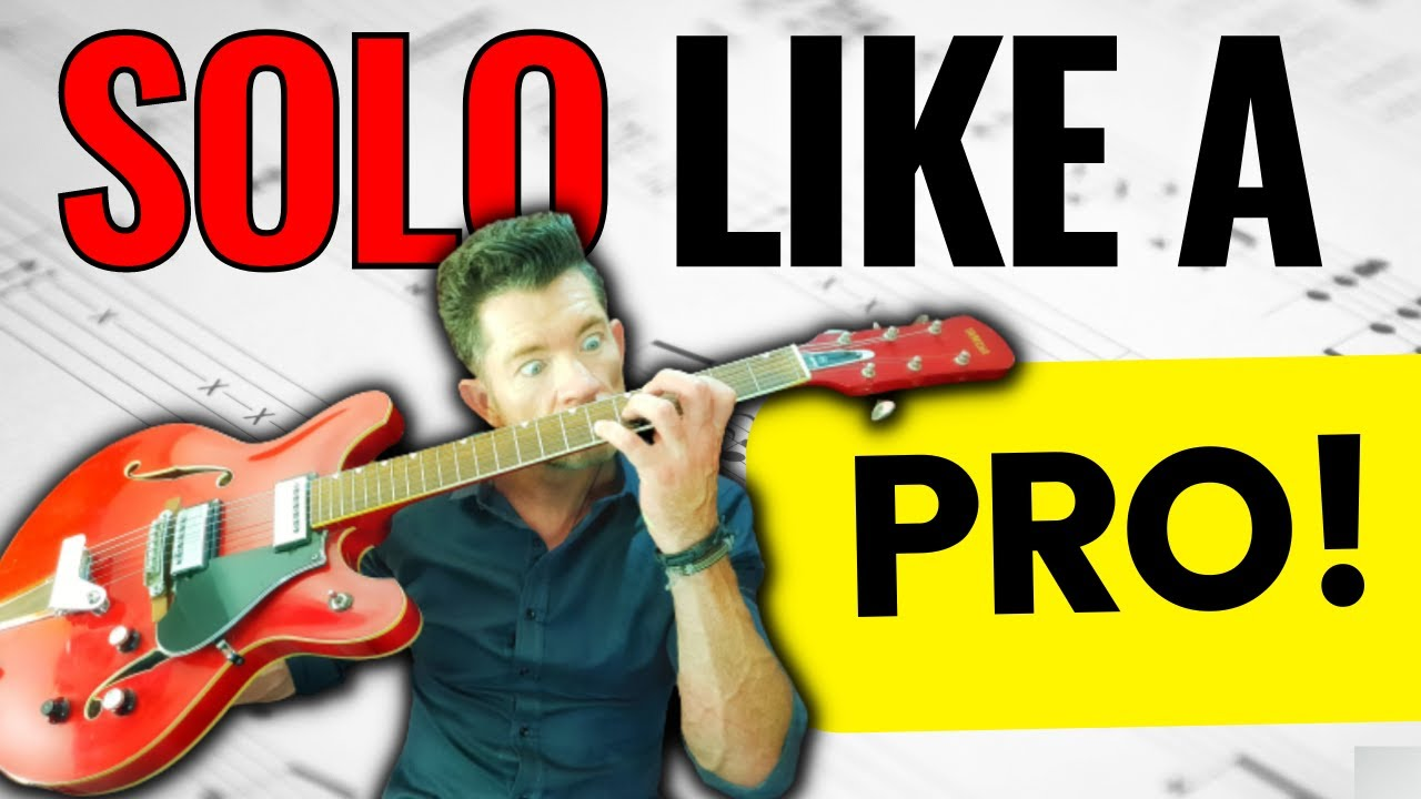 Guitar Tips for Beginner SCALES to Professional SOLOING