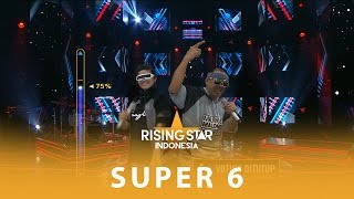 "Video Agung Mieke ""I Gotta Feeling Medley Gangnam Style"" I Super 6 I Rising Star Indonesia 2016 MP3, 3GP, MP4, WEBM, AVI, FLV Maret 2018"