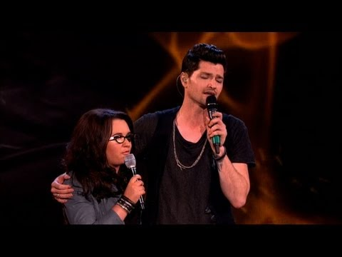 The Voice UK 2013 | Danny and Andrea Duet: 'Hall Of Fame' – The Live Final – BBC One