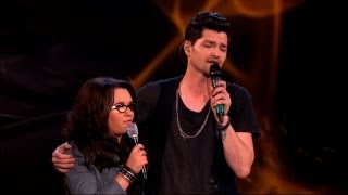 The Voice UK 2013 | Danny and Andrea Duet: 'Hall Of Fame' - The Live Final - BBC One