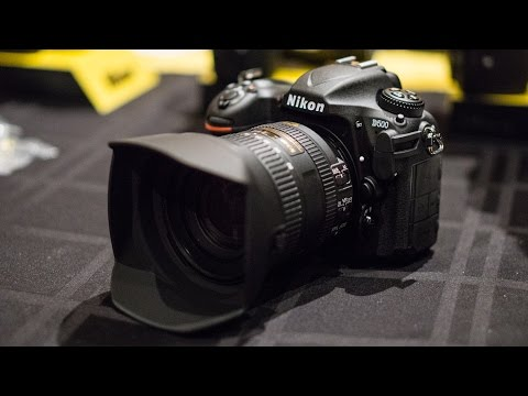 Nikon D500 Hands-On at CES 2016