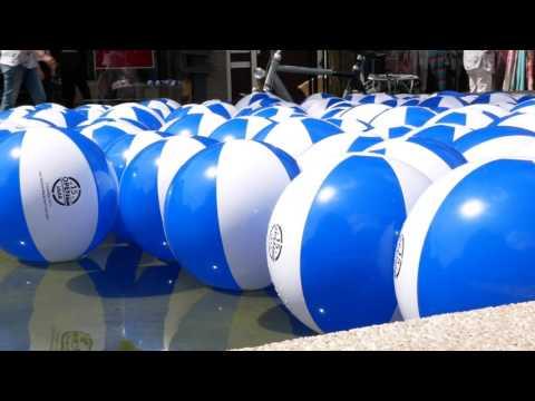 Strandballenactie gemeente Hoogeveen