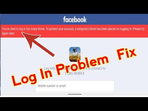 Login pubg error facebook pc How to