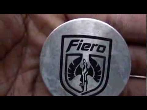Pontiac Fiero Wheel Center Cap Set
