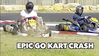 GO KARTING GOES TERRIBLY WRONG *CRASH* by Vehicle Virgins