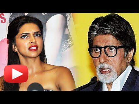OMG Deepika Padukone Didn't Invite Amitabh Bachcha