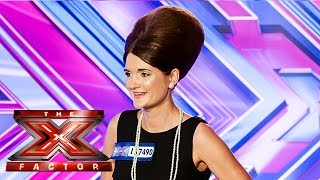 Lauren Lovejoy sings Peggy Lee's Why Don't you do Right | Room Auditions Wk 2 | The X Factor UK 2014