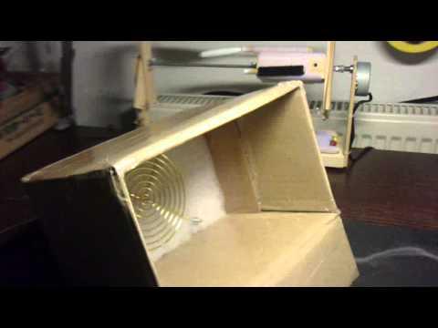Airbrush Abzugsanlage Eigenbau - Test