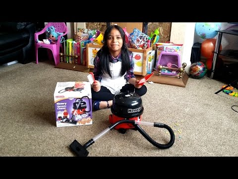 Kids Henry Toy Vacuum Cleaner by Casdon | Surprise Toy Unboxing & Review
