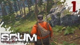 SCUM - It Begins! (Multiplayer Gameplay Video) - EP01