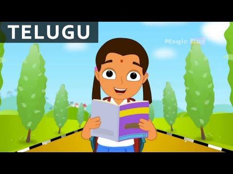 Download Telugu Basha - Bala Anandam - Telugu Nursery Rhymes/Songs For Kids HD Video