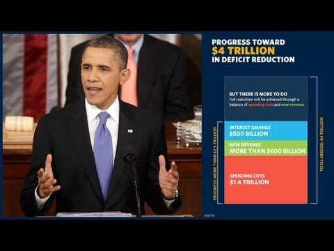 State - President Obama delivers the 2013 State of the Union address to Congress and the nation.