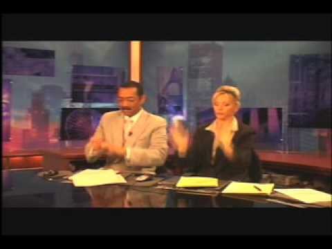 What News Anchors Do During Commercial Breaks w/sound Video