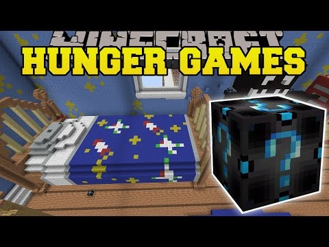 Minecraft: BEDROOM HUNGER GAMES - Lucky Block Mod - Modded Mini-Game