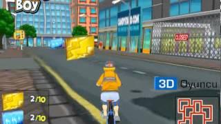 3D Bisikletli Çocuk  - 3D Macera Oyunları