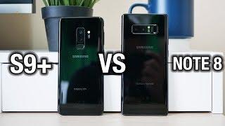 Samsung Galaxy S9+ vs Galaxy Note 8: Tough one...   Pocketnow