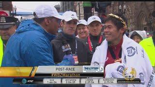 Video 'Thank You Boston!': Yuki Kawauichi Grateful For Boston Marathon Crowd Support MP3, 3GP, MP4, WEBM, AVI, FLV Juli 2018