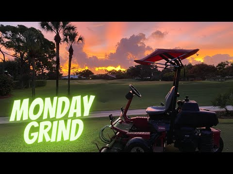 Full Day Working Ground Crew Maintenance | Monday on the Course | EP:8