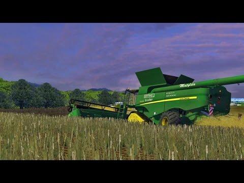 ★Czech Map v2★ Rzepak John Deere S690i & Claas Lexion 770 TerraTrac Farming Simulator 2013㋡