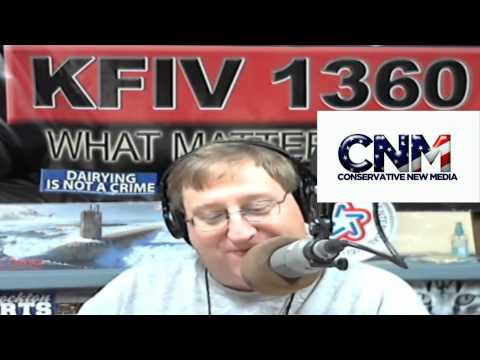 Conservative New Media - Dave! Diamond of KFIV 1360AM in Modesto, California does his first video for Conservative New Media and it's classic stuff from the radio maestro: Hey, gover...