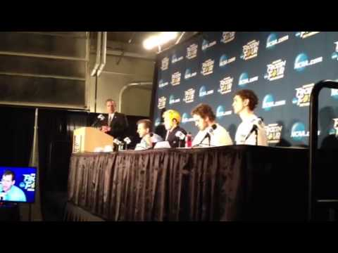 Yale Men's Ice Hockey NCAA Frozen Four Apr. 11, 2013: Keith Allain Postgame Press Conference