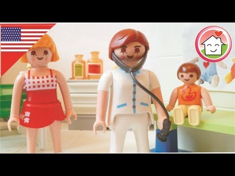 Playmobil Movie English Anna is sick The Hauser Family